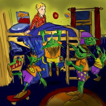 click to  expand - The bunk-bed kidnap.