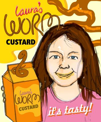 Laura's Worm Custard