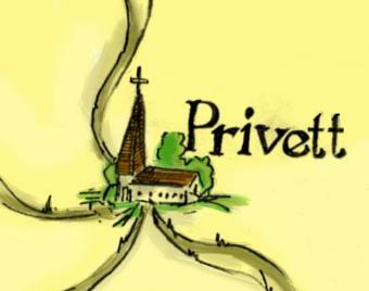 Pointy church in Privett